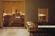 Castello di Brolio matures slowly in barrel
